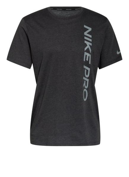 Nike T-Shirt PRO, Farbe: DUNKELGRAU (Bild 1)