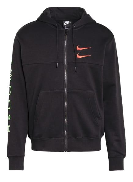 Nike Sweatjacke SWOOSH, Farbe: SCHWARZ (Bild 1)