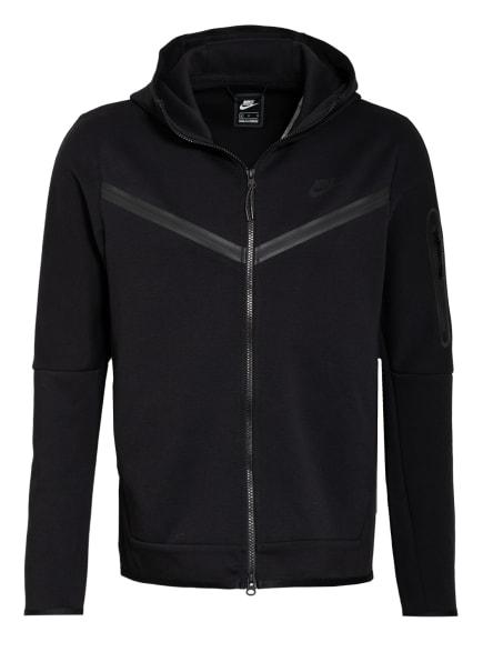 Nike Sweatjacke SPORTSWEAR TECH FLEECE, Farbe: SCHWARZ (Bild 1)