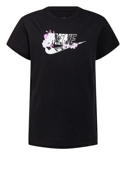 Nike T-Shirt, Farbe: SCHWARZ/ WEISS/ PINK (Bild 1)