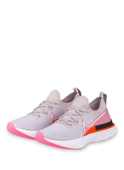 Nike Laufschuhe REACT INFINITY RUN FLYKNIT, Farbe: TAUPE/ ROSA (Bild 1)