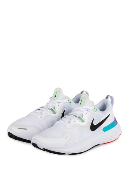 Nike Laufschuhe REACT MILER, Farbe: WEISS/ MINT (Bild 1)