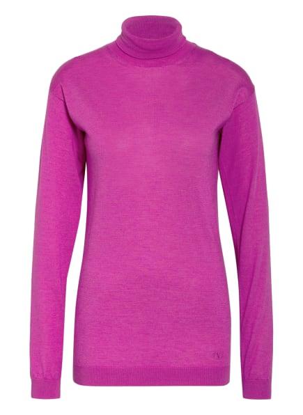 VALENTINO Cashmere-Pullover mit Seide, Farbe: FUCHSIA (Bild 1)