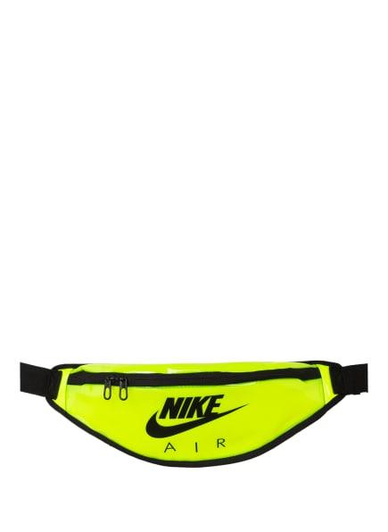 Nike Gürteltasche HERITAGE, Farbe: NEONGRÜN/ SCHWARZ (Bild 1)