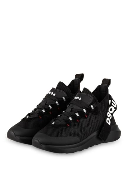 DSQUARED2 Plateau-Sneaker SPEEDSTER, Farbe: M436 BLACK-BLACK (Bild 1)