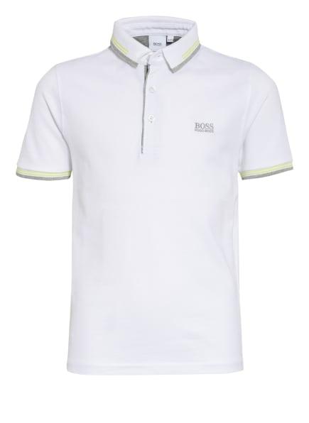 BOSS Piqué-Poloshirt , Farbe: WEISS (Bild 1)