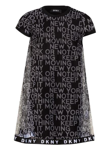 DKNY Tüllkleid, Farbe: SCHWARZ (Bild 1)
