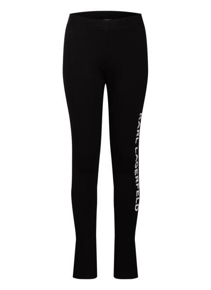 KARL LAGERFELD KIDS Leggings, Farbe: SCHWARZ (Bild 1)