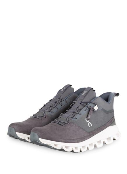 On Running Sneaker CLOUD HI MONOCHROME, Farbe: GRAU (Bild 1)