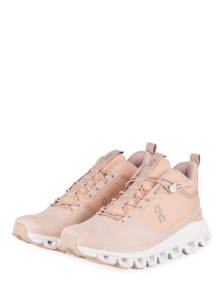 On Running Sneaker CLOUD HI MONOCHROME, Farbe: NUDE (Bild 1)