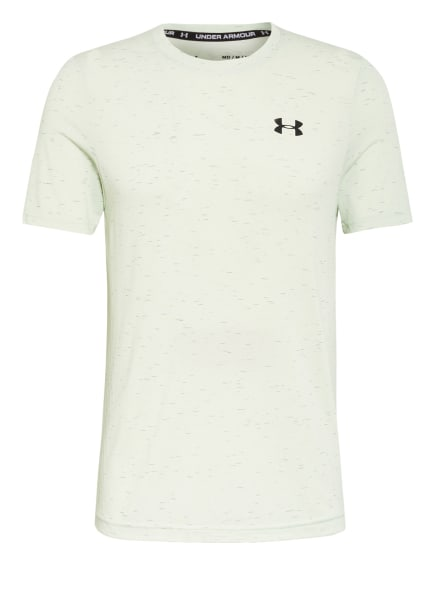 UNDER ARMOUR T-Shirt SEAMLESS, Farbe: HELLGRÜN (Bild 1)