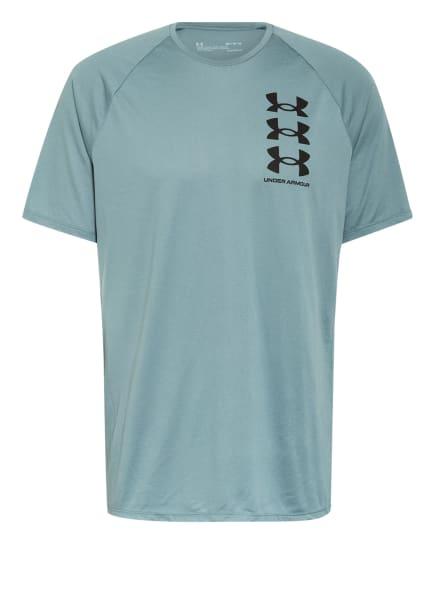 UNDER ARMOUR T-Shirt UA TRIPLE STACK, Farbe: HELLBLAU (Bild 1)