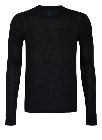 odlo Funktionswäsche-Shirt ACTIVE WARM ECO, Farbe: SCHWARZ (Bild 1)