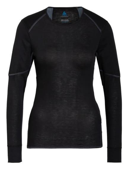 odlo Funktionswäsche-Shirt ACTIVE X-WARM ECO, Farbe: SCHWARZ (Bild 1)