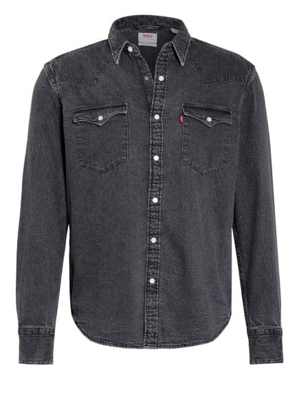 Levi's® Jeanshemd BARSTOW WESTERN Standard Fit, Farbe: GRAU/ DUNKELGRAU (Bild 1)