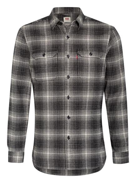 Levi's® Flanellhemd JACKSON Standard Fit , Farbe: SCHWARZ/ WEISS (Bild 1)