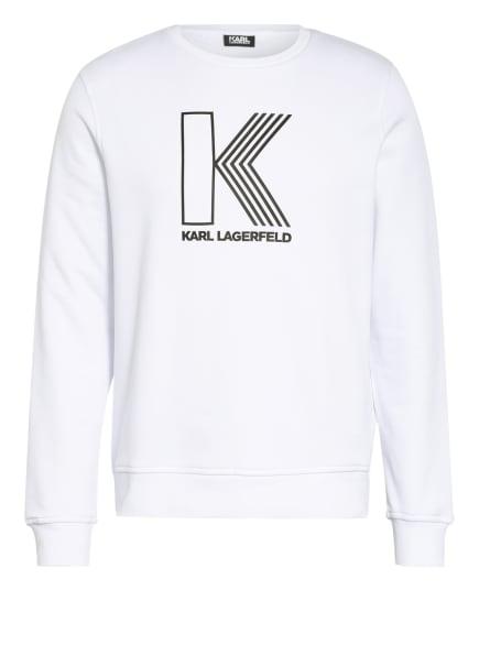 KARL LAGERFELD Sweatshirt , Farbe: WEISS (Bild 1)