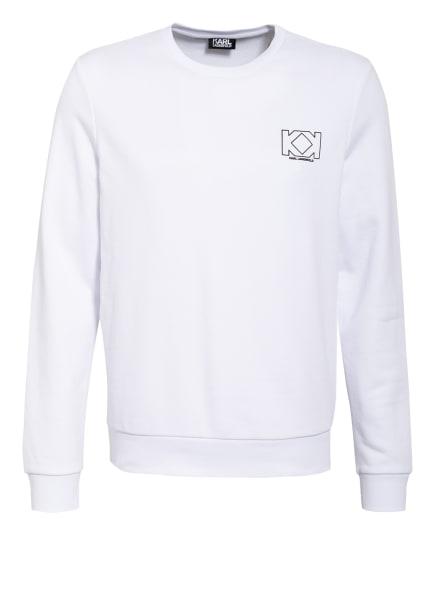 KARL LAGERFELD Sweatshirt, Farbe: WEISS (Bild 1)