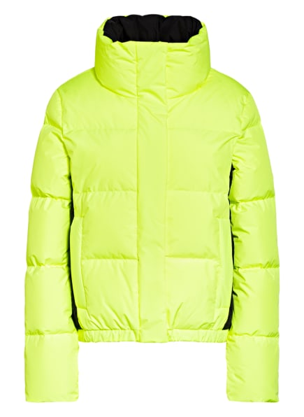 GOLDBERGH Daunen-Skijacke SHORTY, Farbe: NEONGELB/ SCHWARZ (Bild 1)