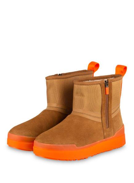 UGG Boots CLASSIC TECH MINI, Farbe: BRAUN/ ORANGE (Bild 1)