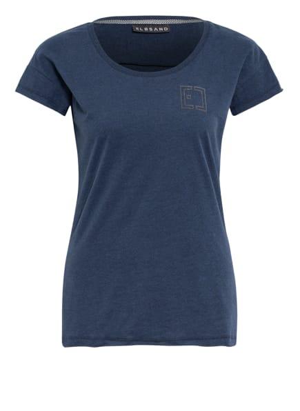 ELBSAND T-Shirt RAN, Farbe: DUNKELBLAU MELIERT (Bild 1)