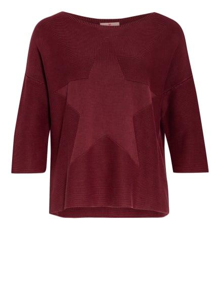 LIEBLINGSSTÜCK Pullover PATRICIA mit 3/4-Arm, Farbe: DUNKELROT (Bild 1)