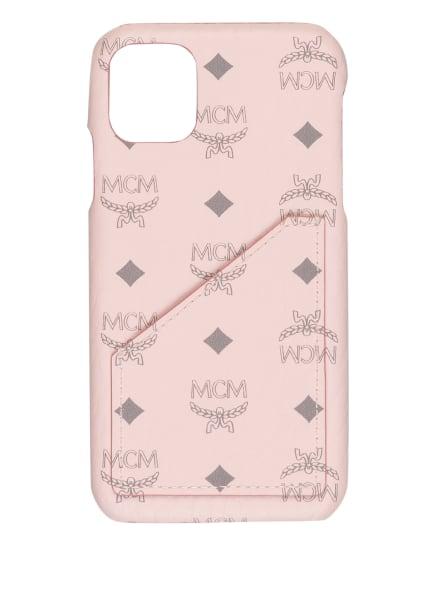 MCM Smartphone-Hülle, Farbe: HELLROSA/ GRAU (Bild 1)