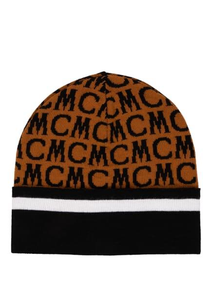 MCM Mütze VISETOS, Farbe: SCHWARZ/ BRAUN (Bild 1)