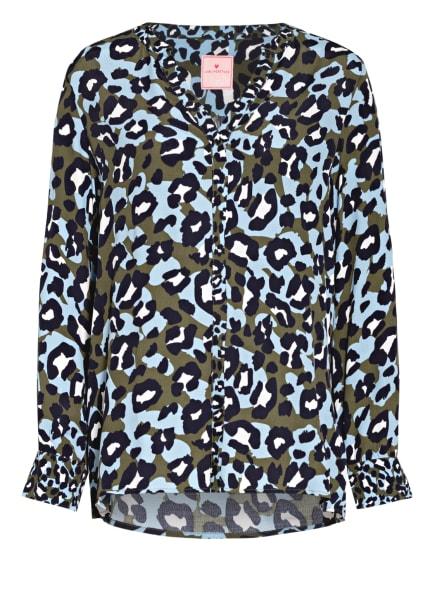 LIEBLINGSSTÜCK Blusenshirt, Farbe: HELLBLAU/ OLIV/ DUNKELBLAU (Bild 1)