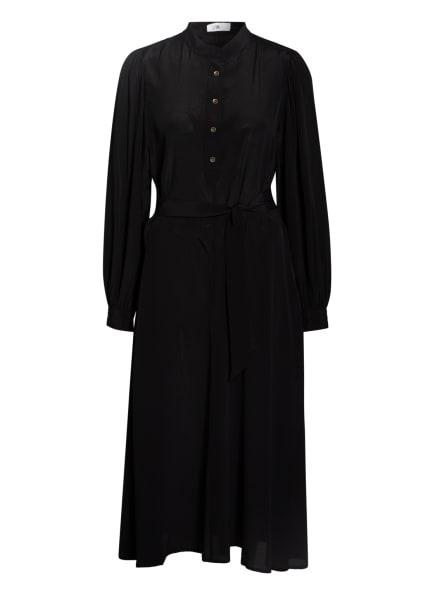 CLOSED Kleid MAYLEEN mit Seide, Farbe: SCHWARZ (Bild 1)