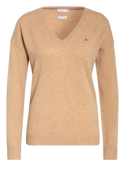 TOMMY HILFIGER Pullover, Farbe: BEIGE (Bild 1)