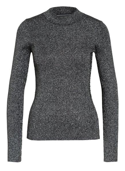Calvin Klein Jeans Pullover mit , Farbe: SCHWARZ/ SILBER/ WEISS (Bild 1)