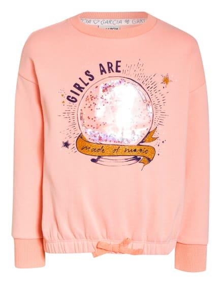 GARCIA Sweatshirt, Farbe: ROSA (Bild 1)