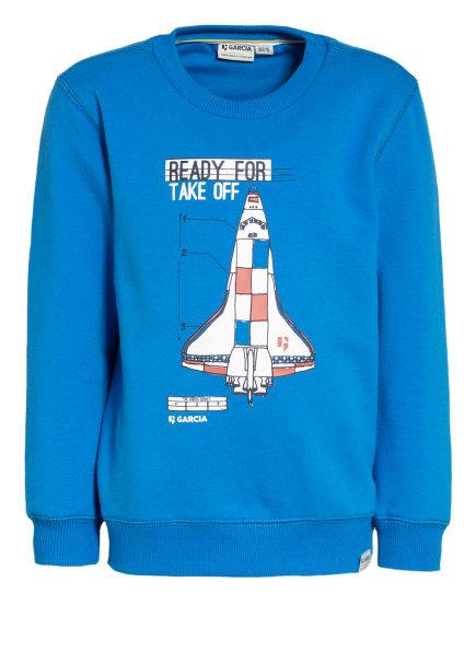 GARCIA Sweatshirt , Farbe: BLAU (Bild 1)
