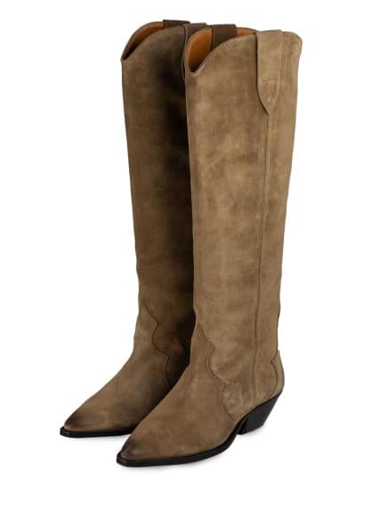 ISABEL MARANT Cowboy Boots, Farbe: TAUPE (Bild 1)
