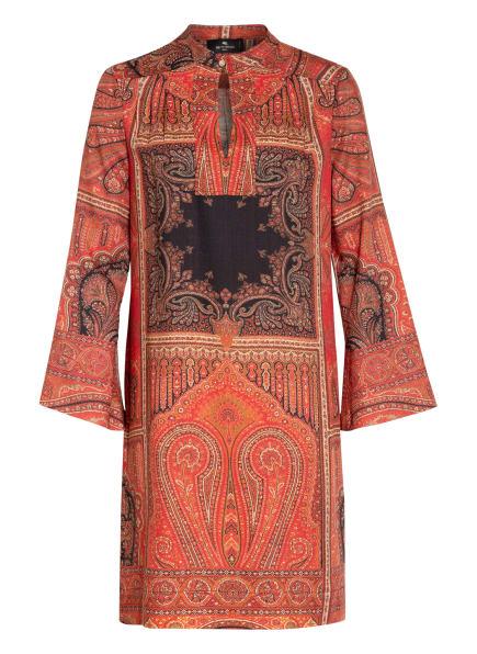 ETRO Kleid mit Seide , Farbe: ROT/ SCHWARZ (Bild 1)
