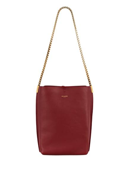 SAINT LAURENT Hobo-Bag, Farbe: DUNKELROT (Bild 1)