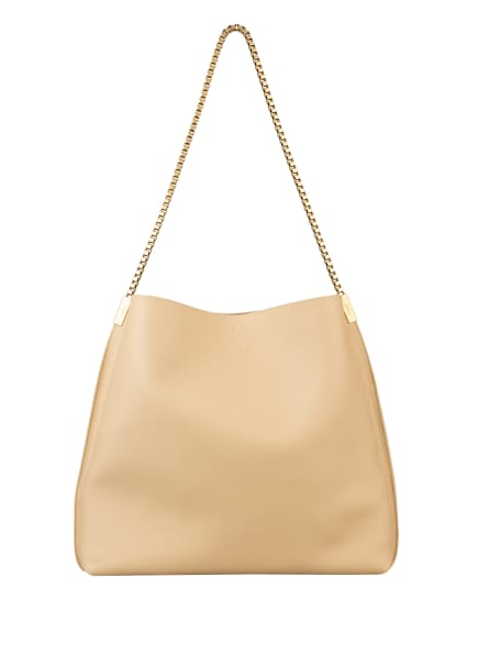 SAINT LAURENT Hobo-Bag SUZANNE MEDIUM mit Pouch, Farbe: BEIGE (Bild 1)