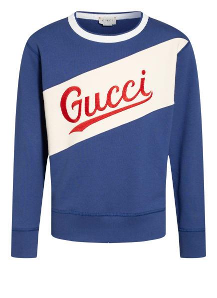 GUCCI Sweatshirt , Farbe: BLAU (Bild 1)