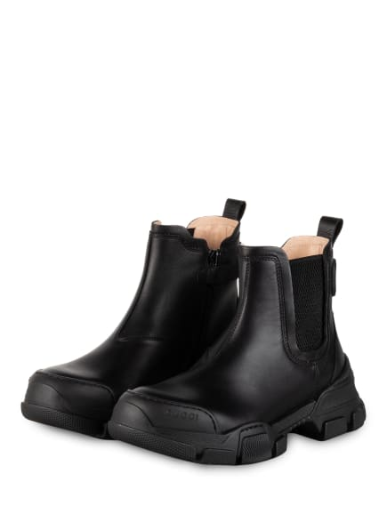 GUCCI Chelsea-Boots, Farbe: 1000 NERO/NERO (Bild 1)