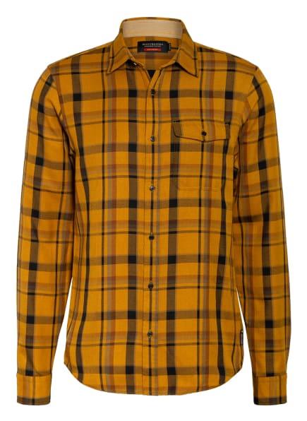 SCOTCH & SODA Hemd Regular Fit , Farbe: DUNKELGELB/ SCHWARZ/ GRAU (Bild 1)