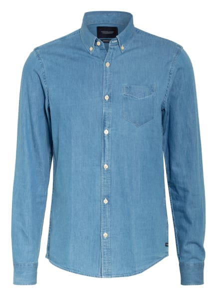 SCOTCH & SODA Hemd Regular Fit , Farbe: BLAU (Bild 1)
