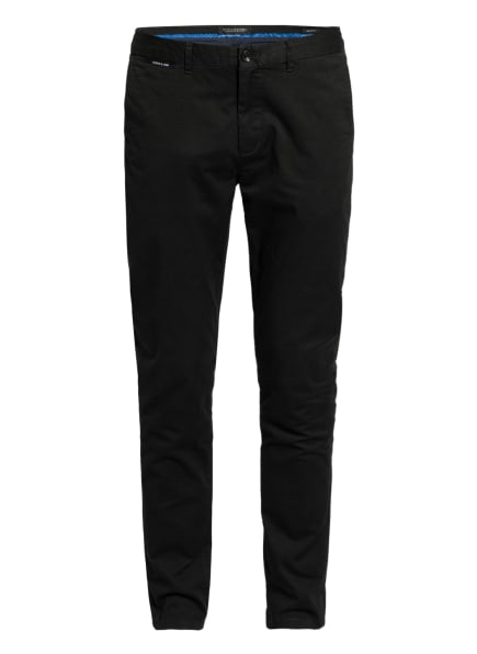 SCOTCH & SODA Chino MOTT Super Slim Fit, Farbe: DUNKELGRÜN (Bild 1)