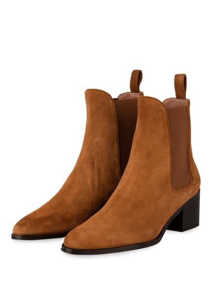 BOSS Chelsea-Boots CARLEY, Farbe: COGNAC (Bild 1)