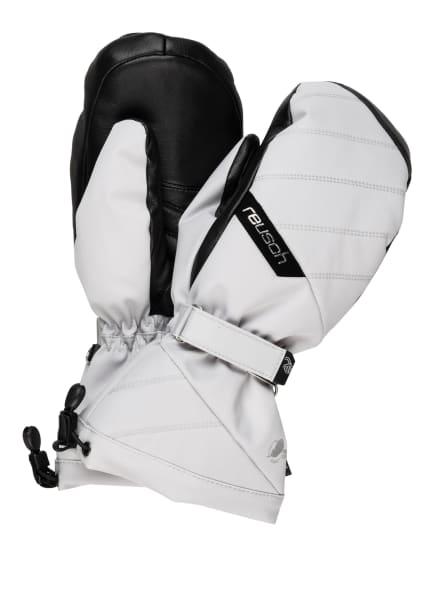 reusch Skihandschuhe SONJA R-TEX® XT MITTEN, Farbe: HELLGRAU/ SCHWARZ (Bild 1)