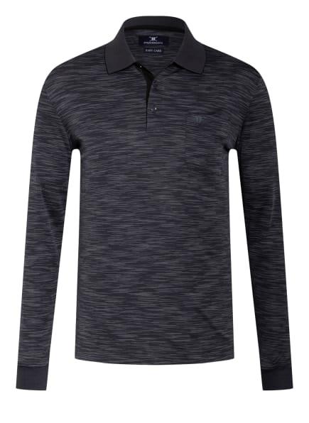 STROKESMAN'S Jersey-Poloshirt Regular Fit, Farbe: GRAU/ HELLGRAU (Bild 1)