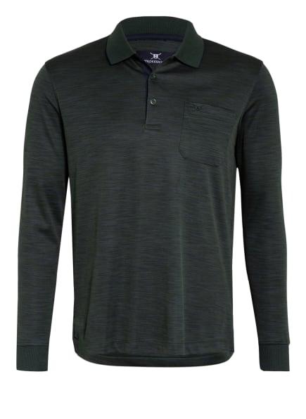 STROKESMAN'S Jersey-Poloshirt Regular Fit, Farbe: GRÜN/ PETROL/ DUNKELBLAU (Bild 1)