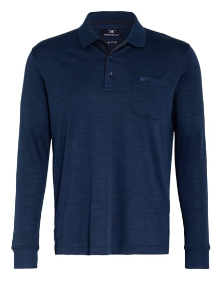 STROKESMAN'S Jersey-Poloshirt Regular Fit, Farbe: DUNKELBLAU (Bild 1)