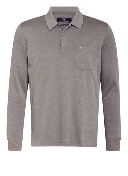 STROKESMAN'S Jersey-Poloshirt Regular Fit, Farbe: GRAU (Bild 1)