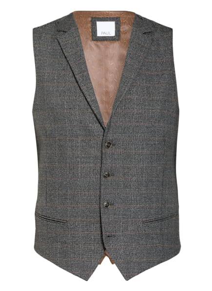 PAUL Kombi-Weste Slim Fit, Farbe: 370 Anthra Bicol (Bild 1)